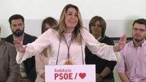 """Díaz pide acudir """"masivamente"""" a las urnas el 28-A"""