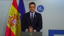 """Sánchez sobre los lazos amarillos: """"Las instituciones públicas tienen que salvaguardar su neutralidad"""""""