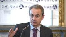 Zapatero expresa su pesar ante las atenciones a los inmigrantes venezolanos