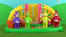 Teletubbies Po Gets Stuck In Muddy Puddle   Teletubbies Toy Play Video   Play games with Teletubbies