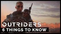 6 choses à savoir sur Outriders selon le studio