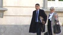 Trapero llega al Tribunal Supremo durante el juicio del 'procés'