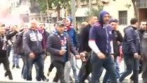 Máxima alerta en Barcelona por la presencia de los seguidores más radicales del Olympique de Lyon