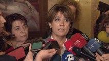 Delgado anuncia sanciones si Torra no retira los lazos amarillos
