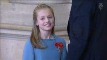 La princesa Leonor intervendrá por primera vez en público leyendo un extracto de la Constitución