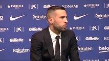 """Jordi Alba renueva con el FC Barcelona: """"Sabíamos que tanto el Barça como yo queríamos estar ligados por muchos años"""""""