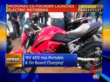 Micromax launches electric motorbike