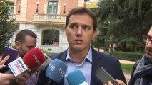 Rivera le pide a Sánchez que no sea abogado de Junqueras