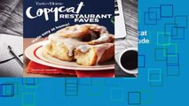 About For Books  Taste of Home Copycat Restaurant Faves: Restaurant Faves Made Easy at Home  For