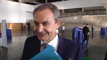 """Zapatero: """"Gobierno debe hacer compatible empleo y derechos humanos"""""""