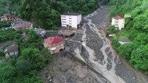 Trabzon'da ağır bilanço gün ağarınca ortaya çıktı