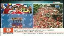 """Maduro asegura que la ayuda humanitaria es un """"lavado de cara"""" a la """"amenaza militar de EEUU"""""""
