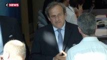 Michel Platini placé en garde à vue