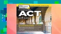 R.E.A.D Cracking the ACT with 6 Practice Tests, 2019 Edition: 6 Practice Tests + Content Review +