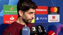 """Piqué critica la 'papeleta' del Real Madrid: """"Es ruido para enmascarar lo de siempre, que el Barça fue campeón"""""""