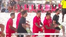 TH : Beach soccer : Tahiti écrase les Tonga 23 à 1