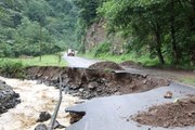 Araklı'da selin neden olduğu hasar, gün ağarınca ortaya çıktı