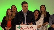 """Sánchez anuncia un """"plan de empleo para Andalucía"""" en los PGE"""