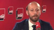 """Stanislas Guérini, délégué général LREM : """"Ceux qui veulent que dans le pays, ça marche, on le fait ensemble, on se relève les manches et il faut le faire au-delà des clivages""""."""
