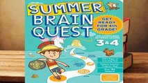 [Read] Summer Brain Quest: Between Grades 3  4  For Kindle