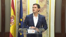 """Rivera: """"Ha perdido Sánchez y ha ganado España"""""""