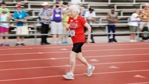 À 103 ans, elle bat un nouveau record en sprint