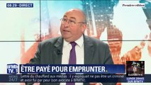Avec un taux d'intérêt négatif, la France est désormais payée pour emprunter