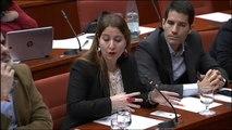 """Sonia Sierra: """"Pueden seguir pintándonos las sedes de amarillo como los nazis a los judíos pero no nos callarán"""""""