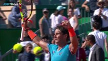 Rafael Nadal clay-court magic vs Bautista Agut | Monte-Carlo 2019