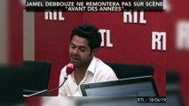 """Jamel Debbouze ne remontera pas sur scène """"avant des années"""""""