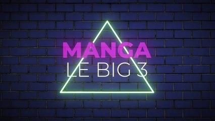 Le big 3 : Des mangas incontournables