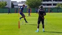 Le FC Sochaux reprend l'entraînement