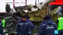 Timeline of the MH17 crash investigation