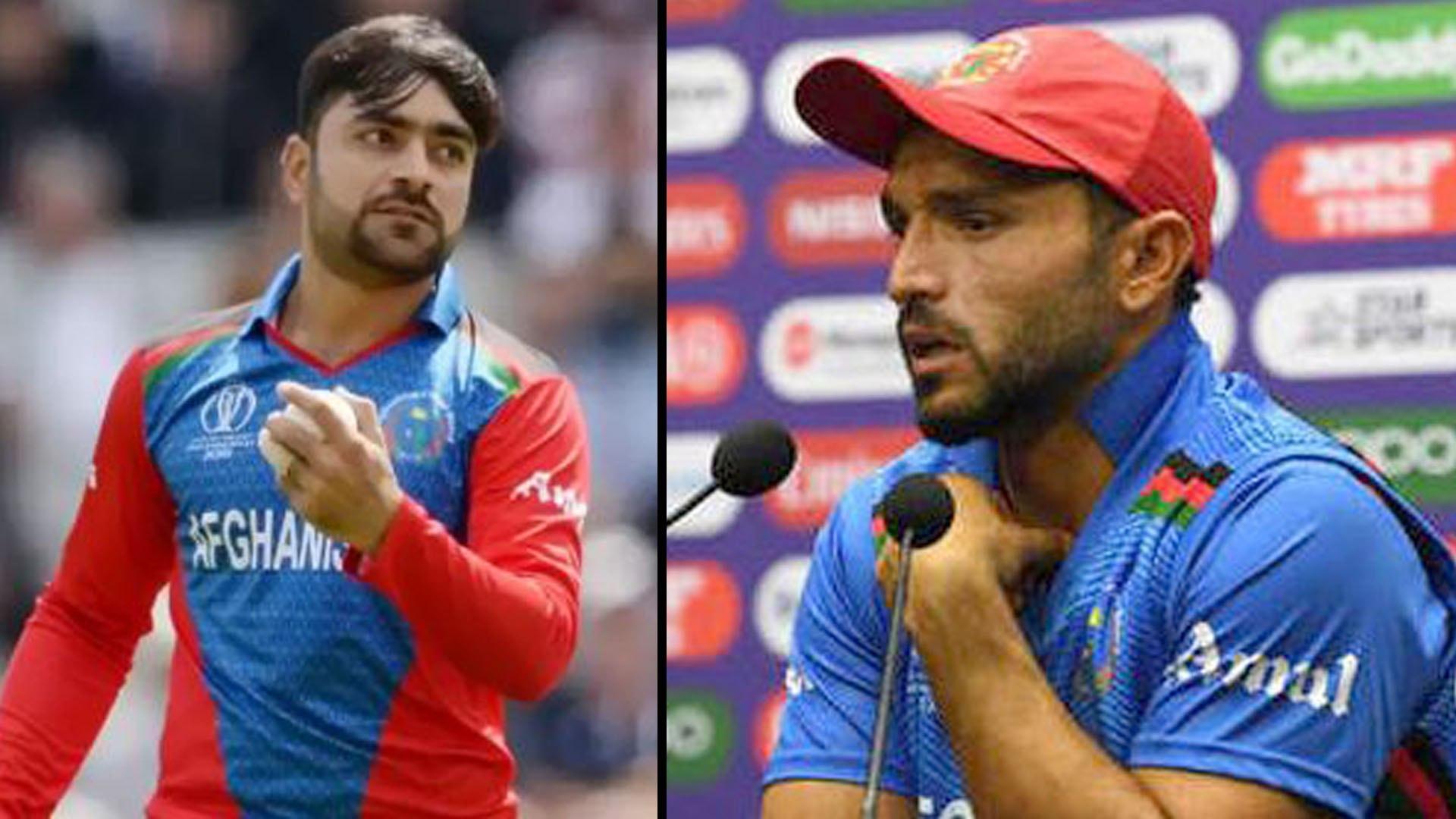 ICC Cricket World Cup 2019 : Gulbadin Naib Defends Rashid Khan After England Assault || Oneindia