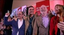 Sánchez presenta las candidaturas del PSOE aragonés