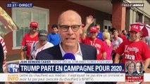 Trump part en campagne pour 2020