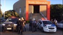 Policiais reforçam segurança na Ufes
