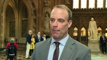 Dominic Raab says he is backing Boris Johnson
