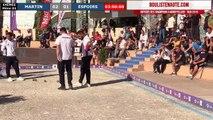 Mondial à pétanque Montpellier 3M Midi Libre 2019 : 32ème France Espoirs VS Martin