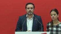 """Garzón llama a combatir la """"ola reaccionaria"""" de Vox"""
