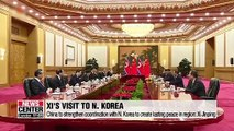 Xi Jinping pledges to support N. Korea in bringing peace in region