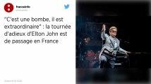 Elton John entame sa tournée d'adieux en France: «Vous allez tellement me manquer!»