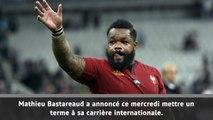 XV de France - Bastareaud annonce sa retraite internationale