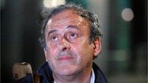 Michel Platini Upset With Being Questioned By Police