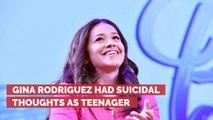 Gina Rodriguez Mentally Struggled Through Her Teenage Years