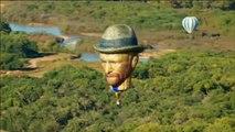 Continúa el mayor festival de globos aerostáticos del mundo en Nuevo México