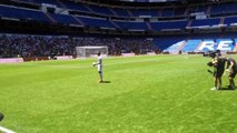 Les jongles très compliqués de Ferland Mendy au Santiago-Bernabéu
