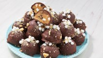 S'mores Cookie Dough Truffles Are Little Balls Of Happiness