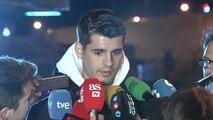 """Morata: """"La gente que sabe de dónde vengo sabe mi historia y lo que significa para mí esto"""""""