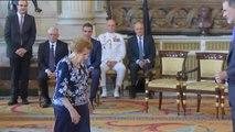 """Felipe VI reafirma su """"compromiso de servicio"""" en el quinto aniversario de su reinado"""